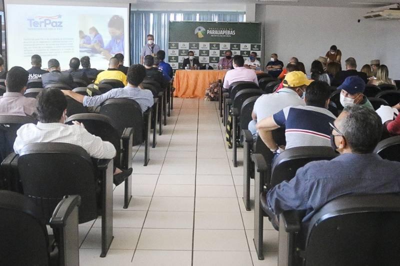 Equipes do governo de Helder visitam Parauapebas para discutir ações do programa TerPaz no município